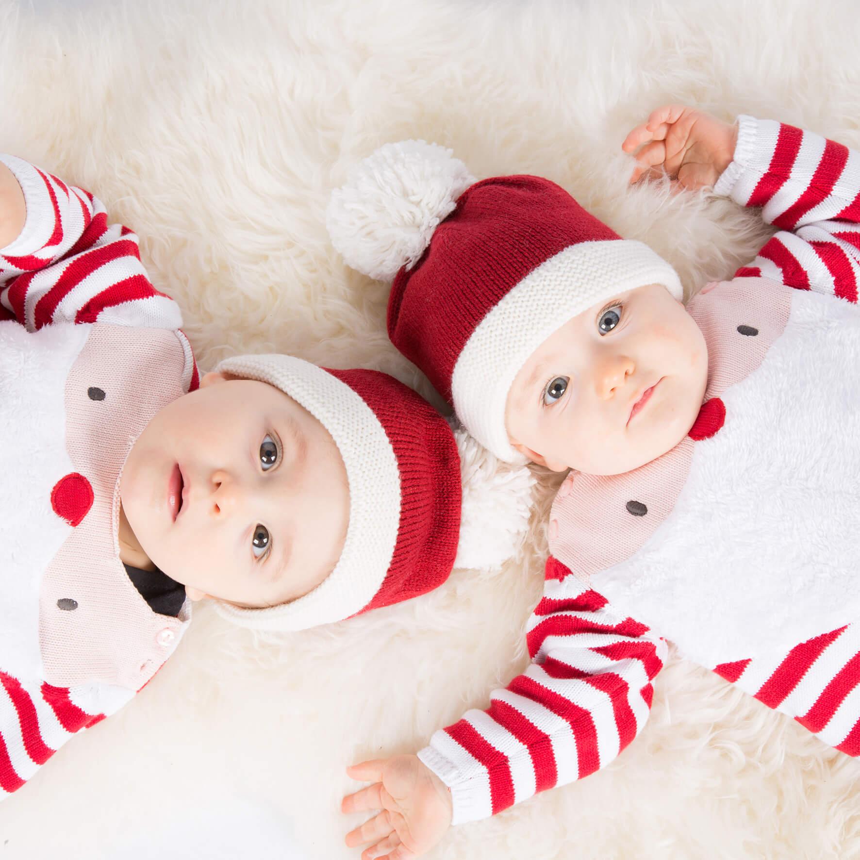 Familienfotos Zwillinge
